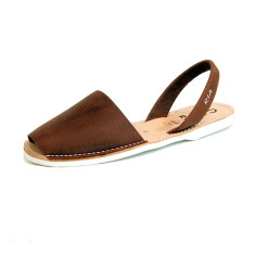 Men's Morell leather sandals in mocha