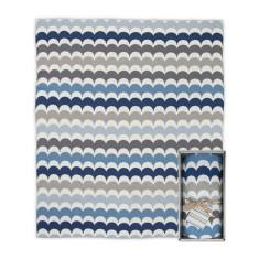 Weegoamigo Ric Rac Baby Blanket (various colours)