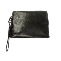 Mink Clutch - Black