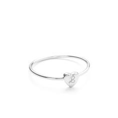 Personalised initial ring