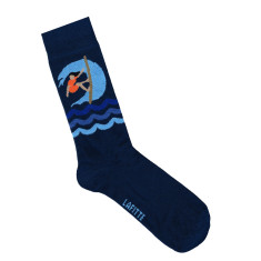 Lafitte surfs up socks