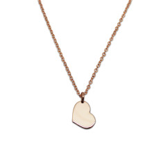 Little Heart 9ct Yellow Gold Necklace