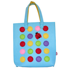 Little Lady Spot Me Tote Bag
