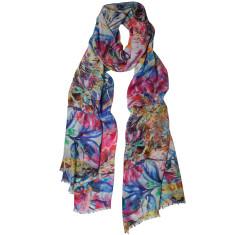 Tropics floral printed scarf