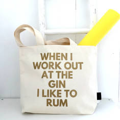Gin and Rum Gym Bag