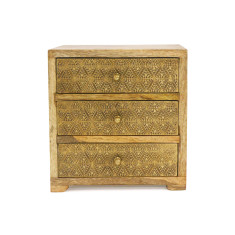 Divine henna collection brass box