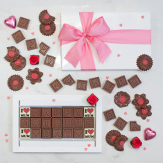 Personalised Mother's Day chocolates