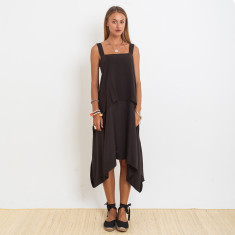 Ashley Penida Dress In Graphite
