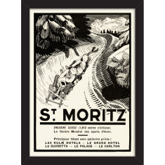 St Moritz Print