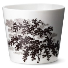 Ruth M landscape cup in brown by Anne Black