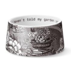 Ruth M landscape sugar bowl