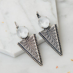 Vintage Style Arrow Earrings
