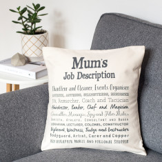 Mum Poem Cushion Cover