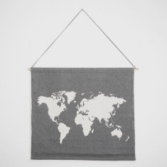 World Traveller Map Wall Hanging