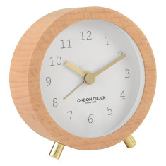 Fredelig Alarm Clock by London Clock Company (multiple colours)