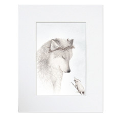 The Wolf King - Wolf Print Unframed