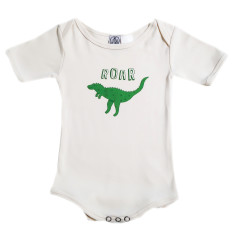 Organic cotton roar onesie