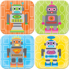 French Bull Robot Plate