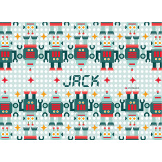 Robotic personalised placemat