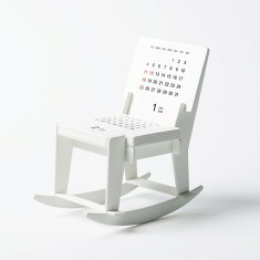 Pop up 3D rocking chair 2018 calendar