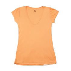 Women's modal t-shirt in orange