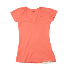 Women's cotton t-shirt in red