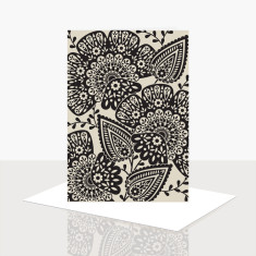 Romantic Floral Greeting Card (Pack of 8)