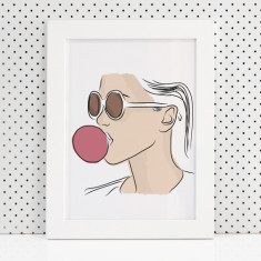 Eve fashion illustration print