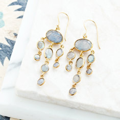 Jellyfish Drop Earrings
