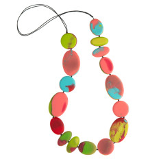 Paradiso flat artisan necklace