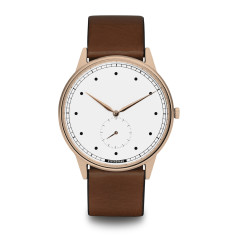 Hypergrand signature watch in rose gold white