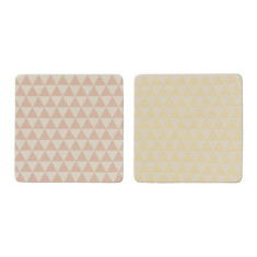 Assorted ceramic coasters (set of 2)