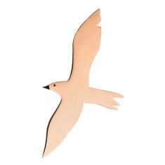 Seagull brooch