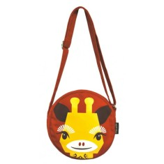 Organic giraffe shoulder bag