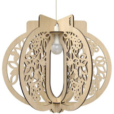 Bloom Pendant Light or Lamp in Medium