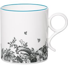 Blue chintz mug