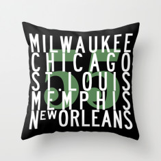 Route 55 USA cushion cover