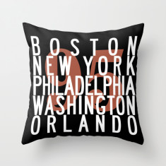 Route 95 USA cushion cover