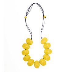 Oceania plain gemstone necklace