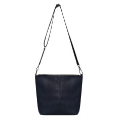 NAT reversible duo compartment shoulder bag