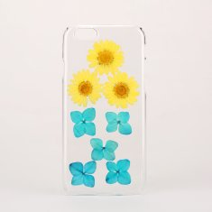Clear flower phone case for iPhone & Samsung