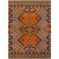 Indri hand woven flat weave rug