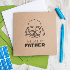 Star Wars 'You Are My Father' Father's Day Card
