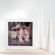 Personalised Mother's Day Photo Box Frame