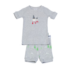 Boys' Christmas gnomes pj set