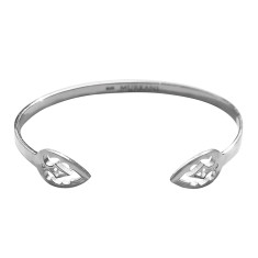 Casablanca open cuff  in sterling silver