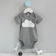 Personalised Sweet Dreams Cloud Babygrow