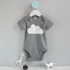 Personalised Sweet Dreams Cloud Babygrow