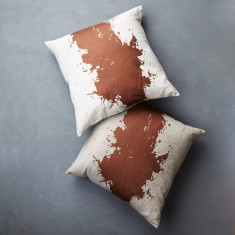 Splotch Linen Cushion