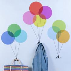 Balloon Sticker Coat Hooks